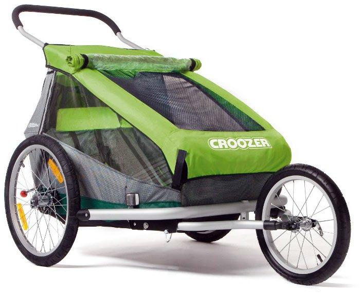 croozer kid for 2 la stazione delle biciclette. Black Bedroom Furniture Sets. Home Design Ideas