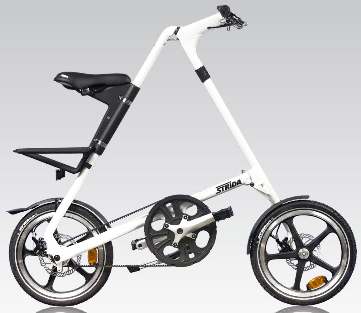 Strida Bici Pieghevole.Strida Strida White