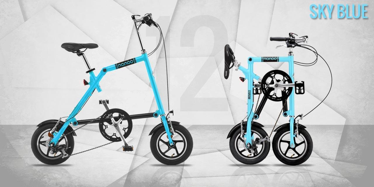 Bici Pieghevole Nanoo Prezzo.Nanoo Fb 12