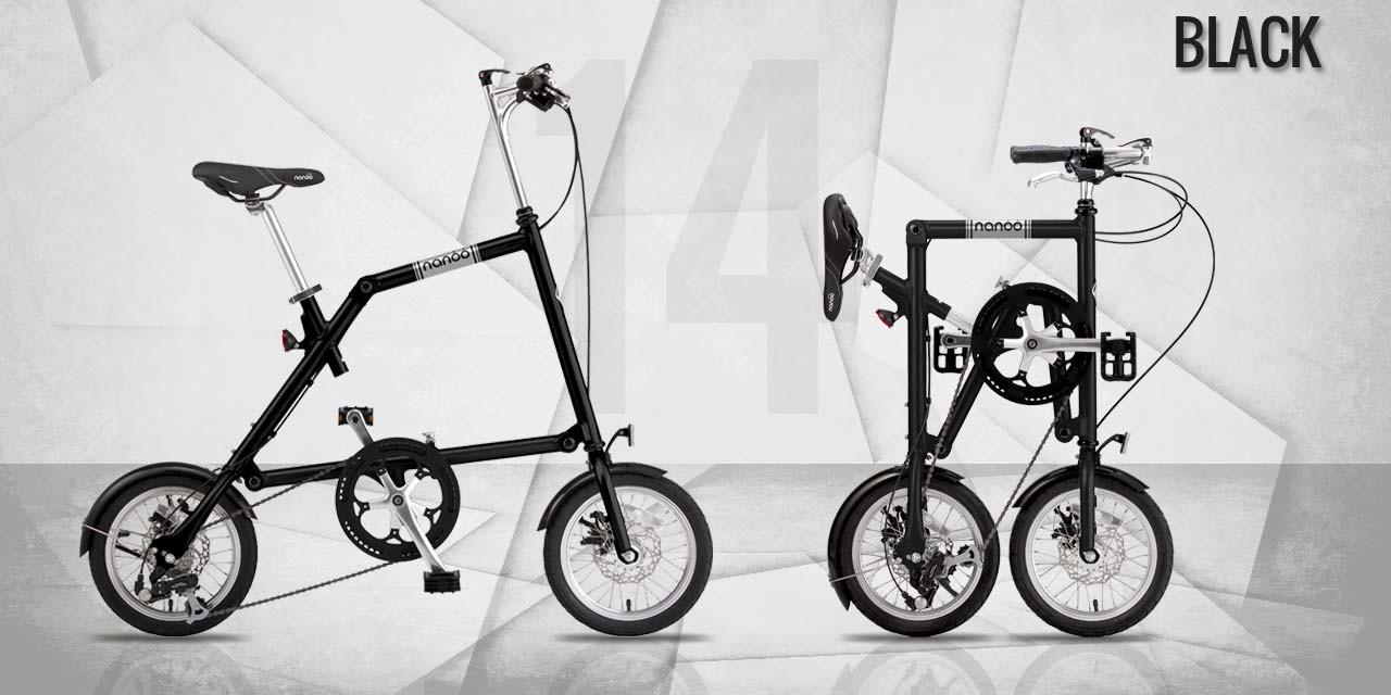 Bici Pieghevole Trasportabile.Nanoo Fb 14