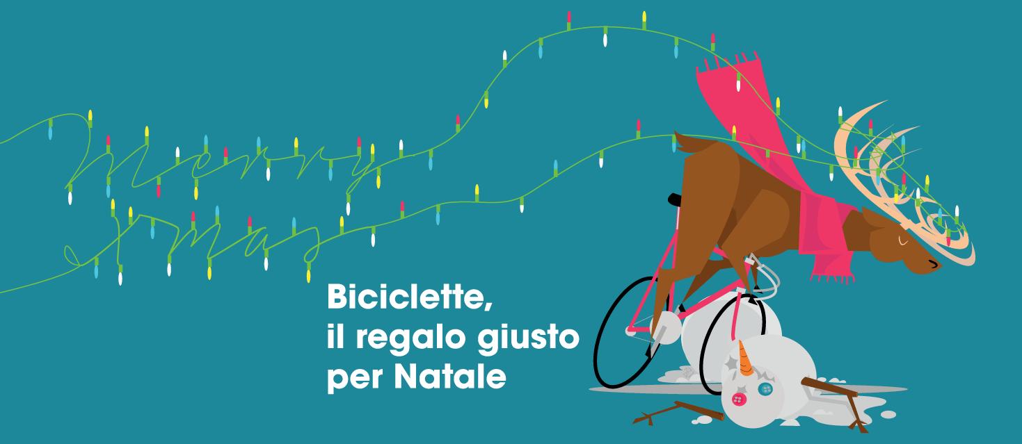 Biciclette, il regalo giusto per Natale
