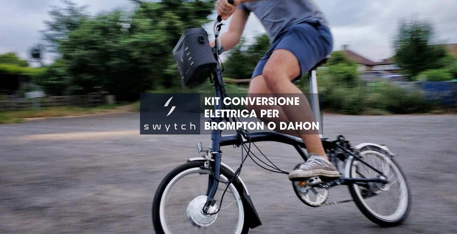 swytch kit brompton elettrica