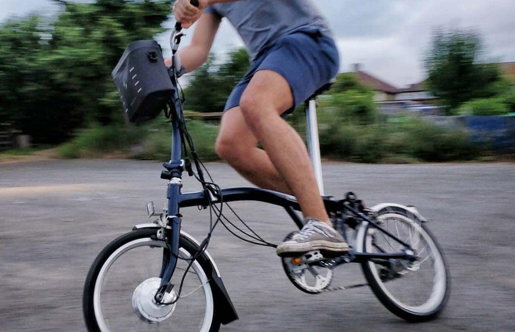 Swytch Kit Elettrico Per Bicicletta Pieghevole La Stazione Delle